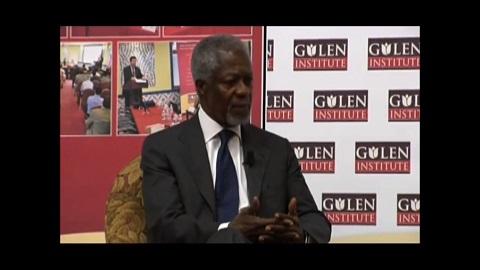 Kofi Annans kommentarer om Gülen Movement
